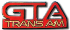 Pontiac GTA Trans Am Fender Emblems