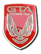1987-90 GTA Trans Am Cloisonne Nose Emblem with stud