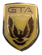 1991-92 GTA Trans Am Composite Nose Emblem without stud
