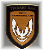 Turbo Trans Am Front Nose Emblem